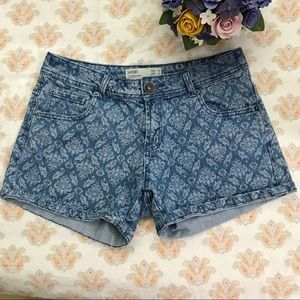 CottonOn printed denim shorts